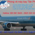 Đại lý vé máy bay giá rẻ tại đường Nguyễn Cư Trinh Quận 1