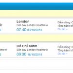 Vé máy bay Vietnam Airlines đi Anh giá rẻ 450 USD