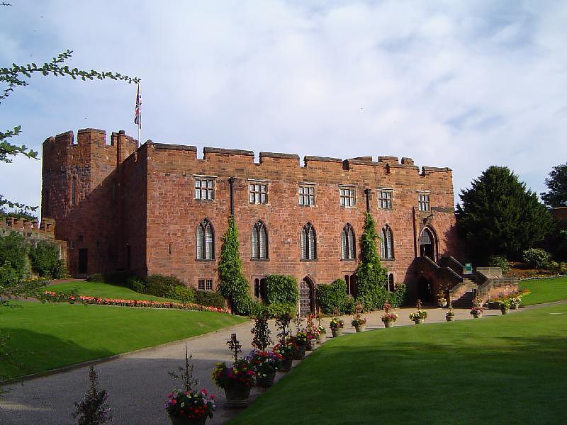 lâu đài ma quái Shrewsbury