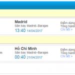 Đặt mua vé máy bay giá rẻ đi Madrid 400 USD