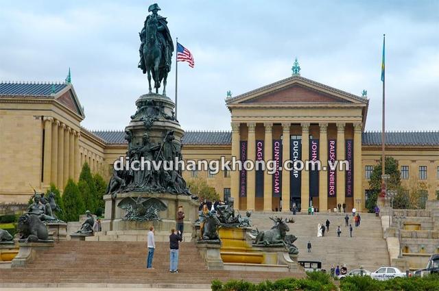 bảo tàng nghệ thuật Philadelphia