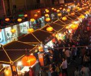 chợ đêm trịnh châu