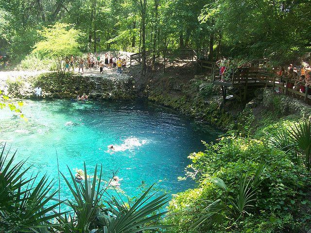tham quan công viên blue springs