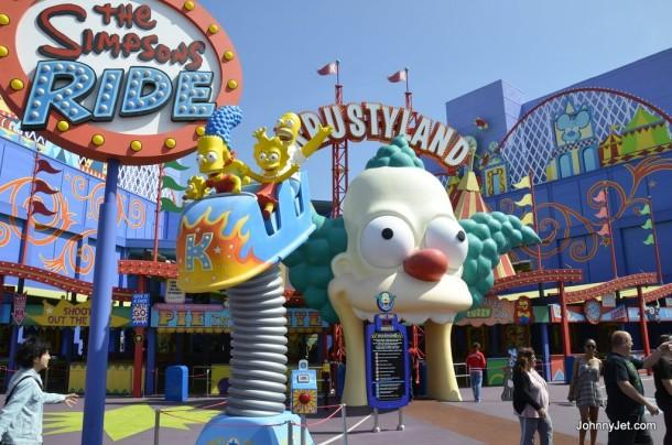 khám phá công viên Universal Studio Hollywood