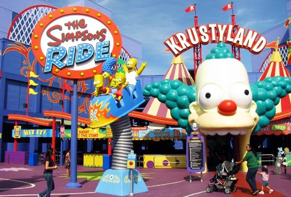 du lịch công viên Universal Studios Theme