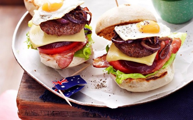 món ngon từ hamburger