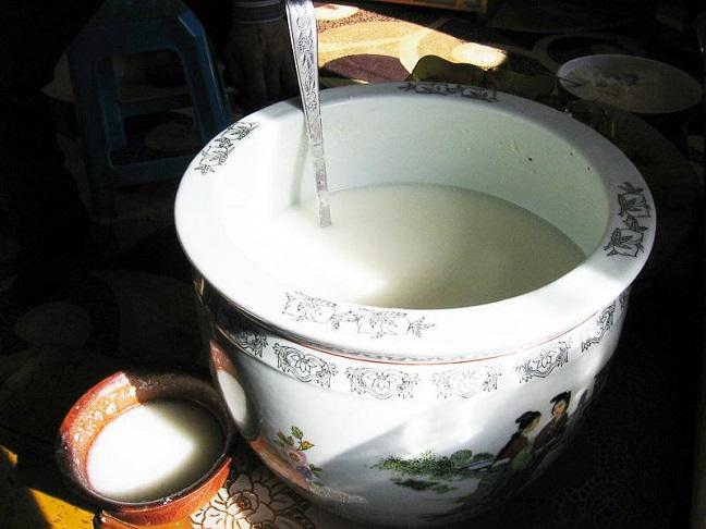 rượu sữa ngựa mông cổ
