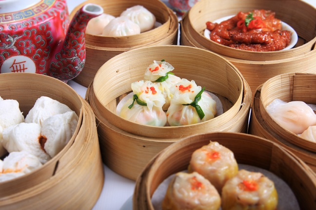 thưởng thức món dimsum hongkong