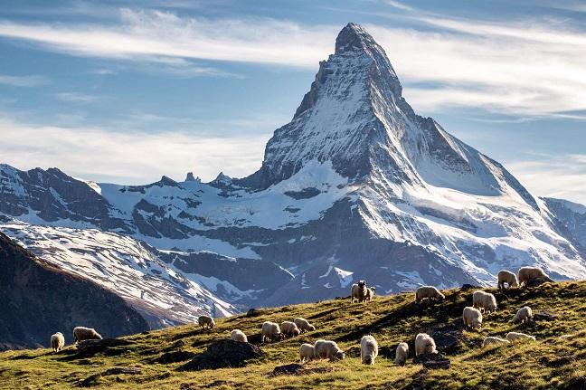 những ngọn núi đẹp nhất châu âu