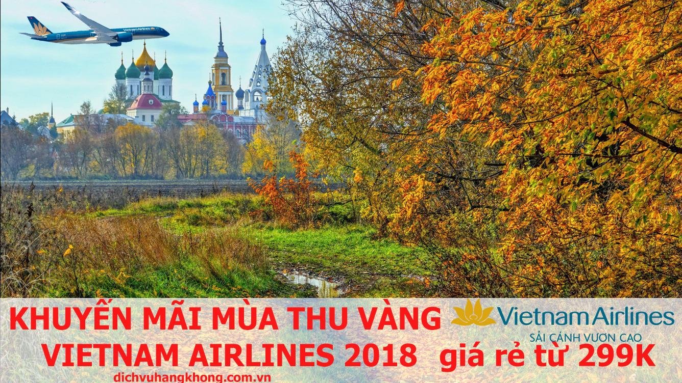khuyến mãi mùa thu vàng vietnam airlines