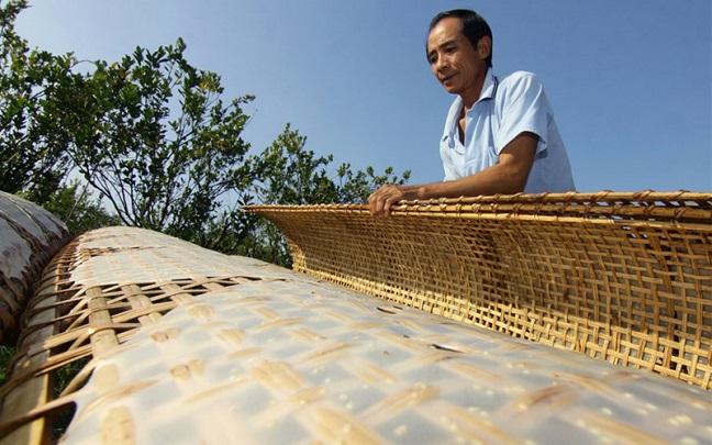 làng nghề bánh tráng diên khánh