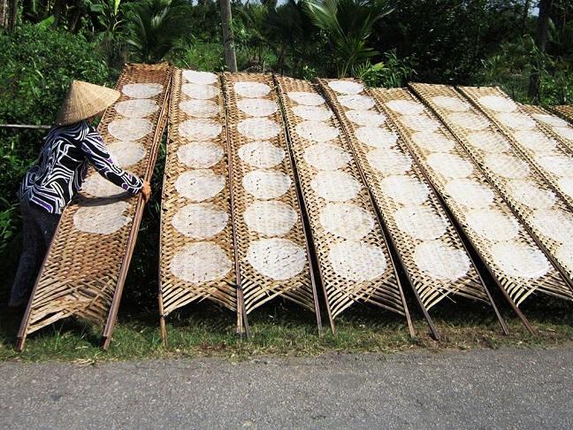 làng nghề bánh tráng