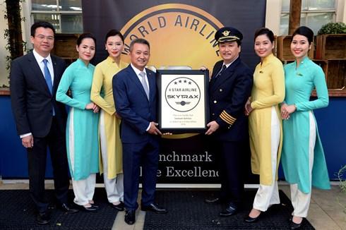 Vietnam Airlines nhận giải skytrax