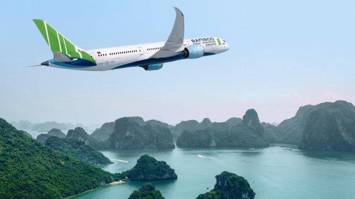 đại lý vé máy bay bamboo airways