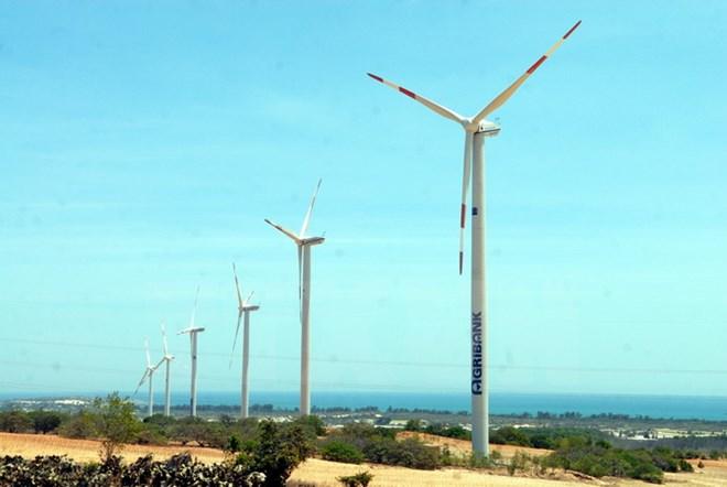 nhà máy điện gió tuy phong bình thuận