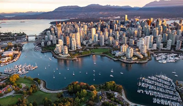 dat ve may bay di vancouver