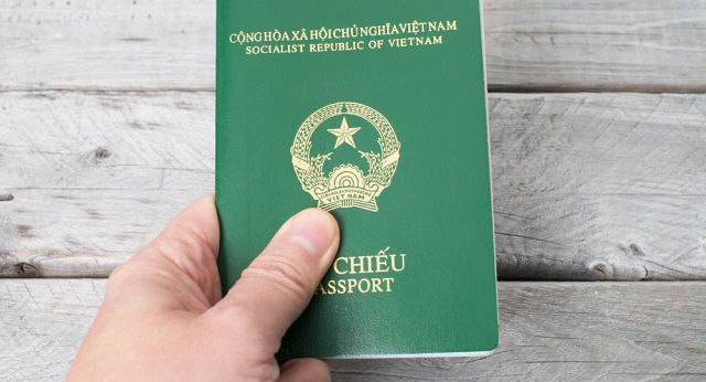hộ chiếu đi máy bay
