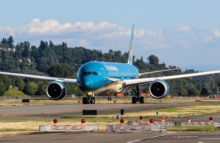 máy bay vietnam airlines boeing 787-10