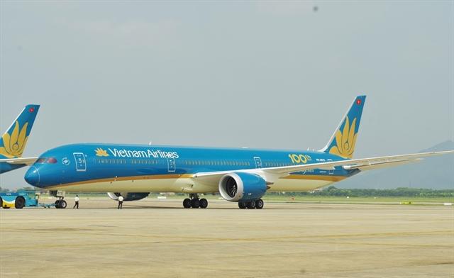 máy bay boeing 787 vietnam airlines