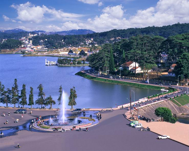 ve may bay di da lat