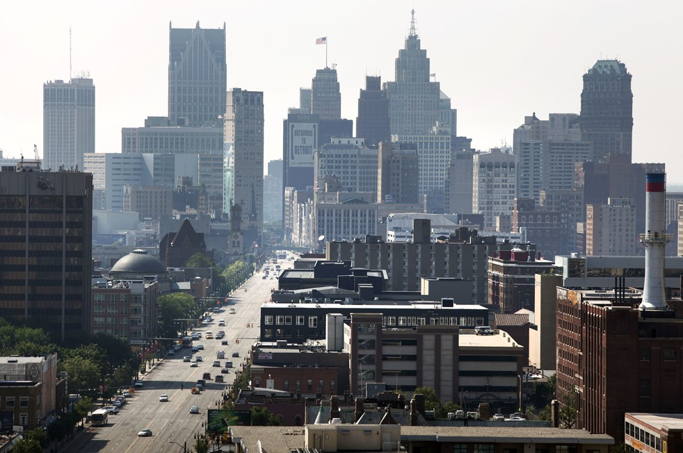 ve may bay di detroit