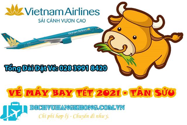 mua vé máy bay tết 2021 tân sửu giá rẻ