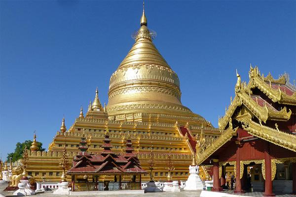 chùa vàng shwezigon