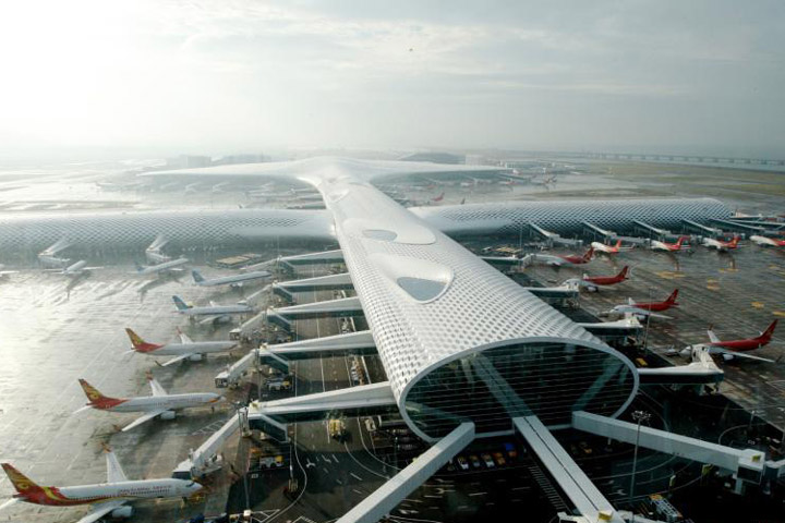 sân bay thẩm quyến