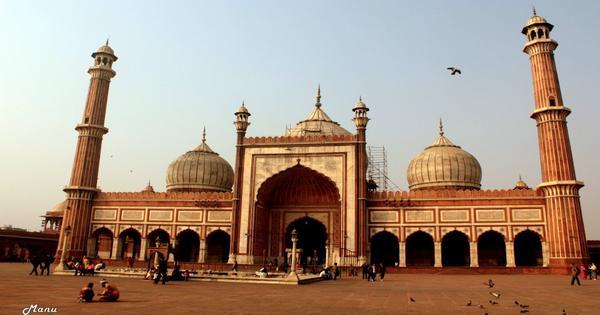 nhà thời Jama Masjid