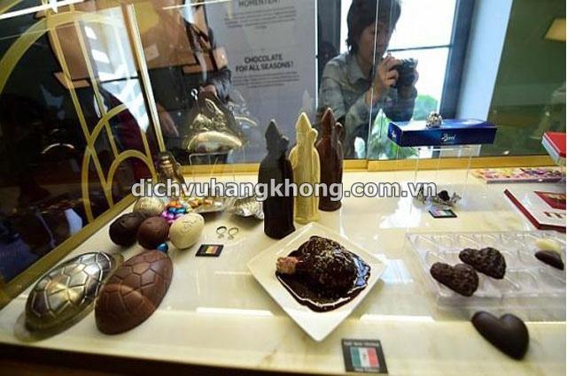 bao tang chocolate Dịch Vụ Hàng Không