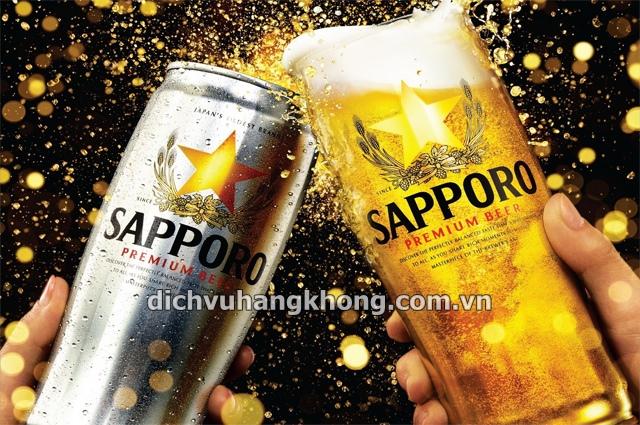 bia sapporo Dịch Vụ Hàng Không