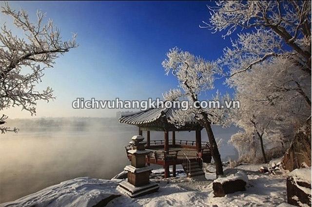 canh dep han quoc Dịch Vụ Hàng Không