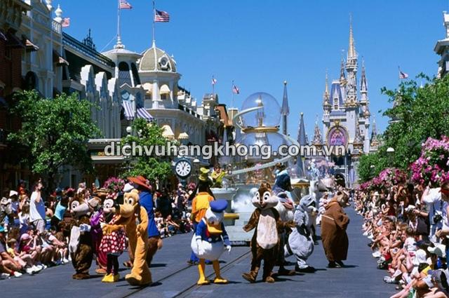 cogn vien Walt Disney Dịch Vụ Hàng Không