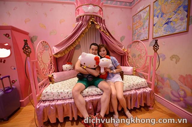 cong vien Hello Kitty Dịch Vụ Hàng Không
