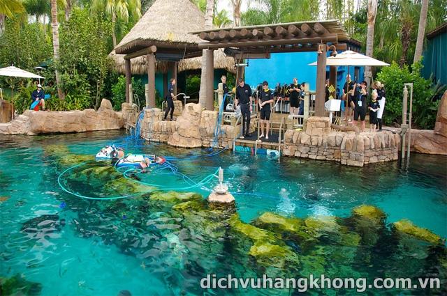 cong vien SeaWorld Dịch Vụ Hàng Không
