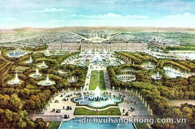 cung dien Versailles Dịch Vụ Hàng Không
