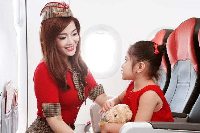 vé máy bay trẻ em