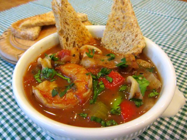 món súp Cioppino