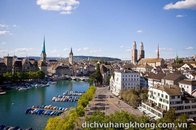 thanh pho Zurich Dịch Vụ Hàng Không