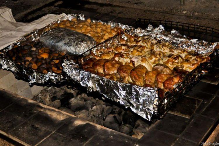 món thịt nướng đá hangi