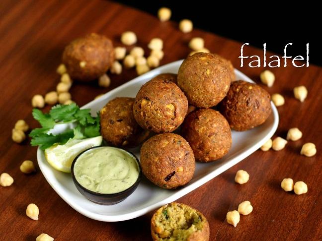 bánh Falafel