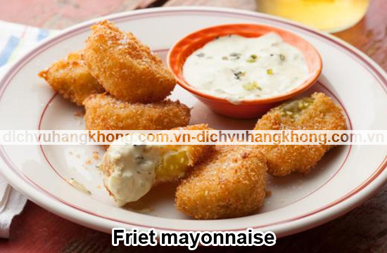 Friet-mayonnaise