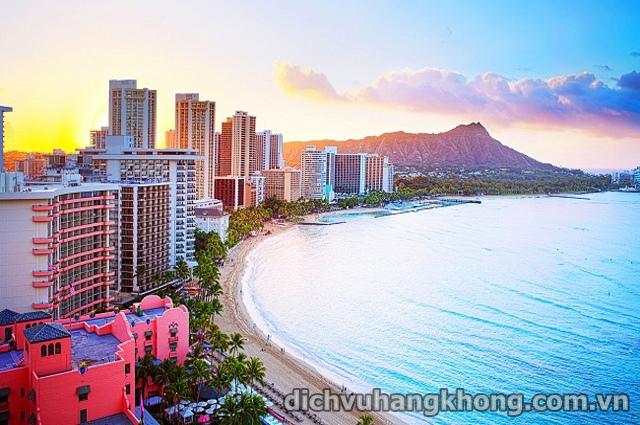 bai bien Waikiki Dịch Vụ Hàng Không