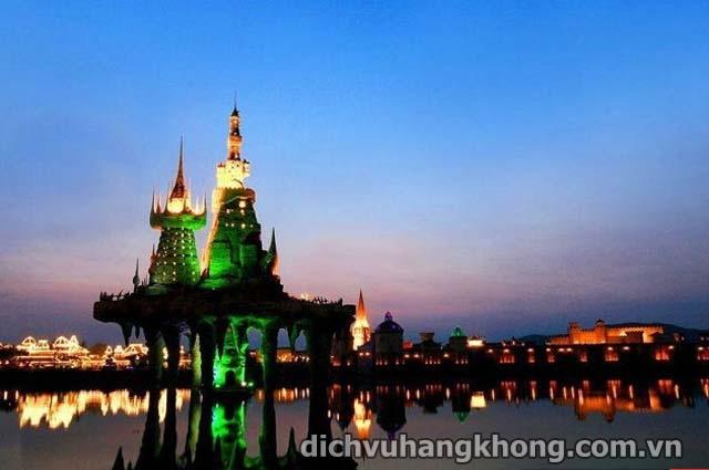 cong vien giai tri Dalian Discovery Kingdom Dịch Vụ Hàng Không