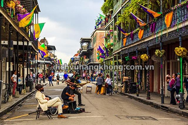du lich New Orleans Dịch Vụ Hàng Không