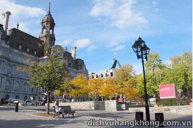 thanh pho Montreal Dịch Vụ Hàng Không