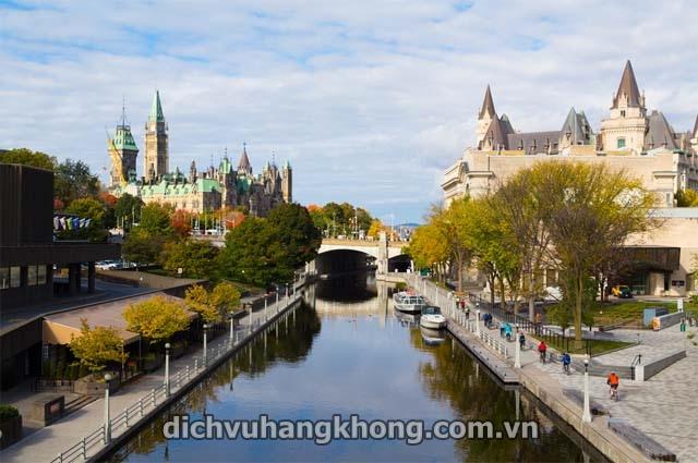 thanh pho Ottawa Dịch Vụ Hàng Không