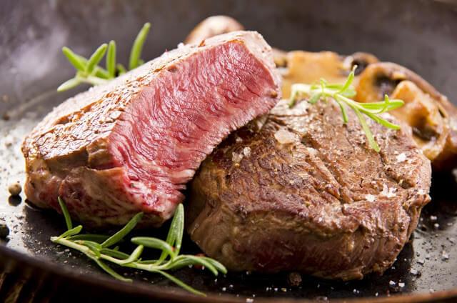 thịt kangaroo nướng