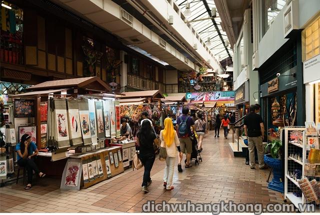 khu Central Market Dịch Vụ Hàng Không