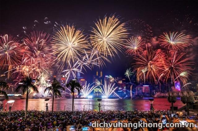 trinh dien phao hoa o hong kong Dịch Vụ Hàng Không